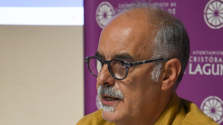 Alberto Cañete, concejal de Educación de La Laguna