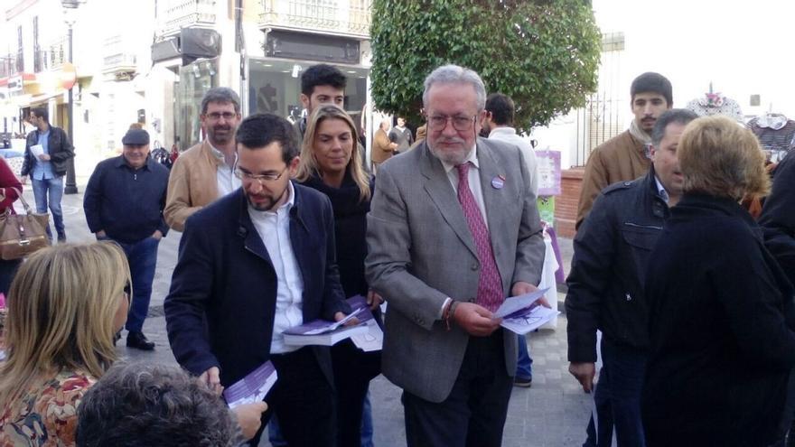 """Pascual (Podemos) afirma que """"para rescatar a los comercios lo importante es que la gente pueda comprar"""""""