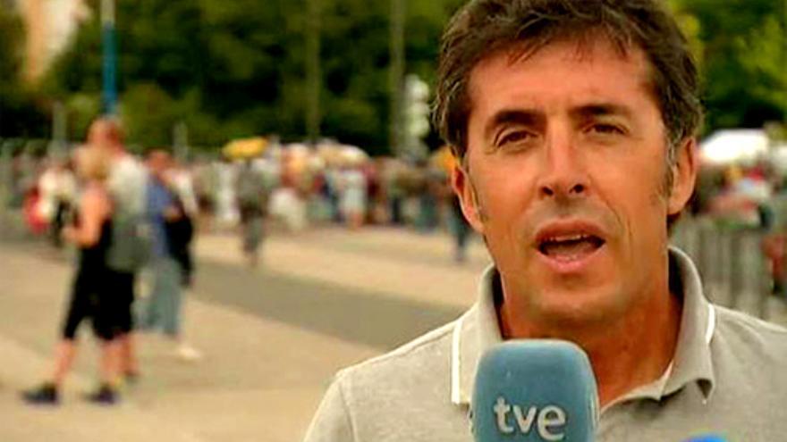 "TVE confirma a Perico Delgado para el Tour de Francia, pero desde ""casa"""