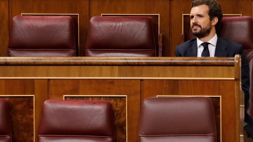 Casado homenajea a las víctimas del terrorismo de ETA cuando se cumplen 25 años del atentado contra Aznar