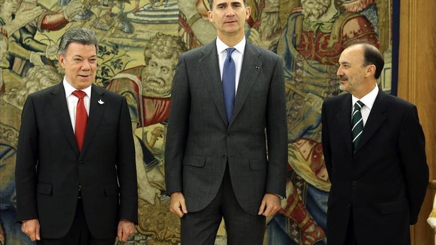 El Rey y Santos abordan la cooperación bilateral y la actualidad iberoamericana
