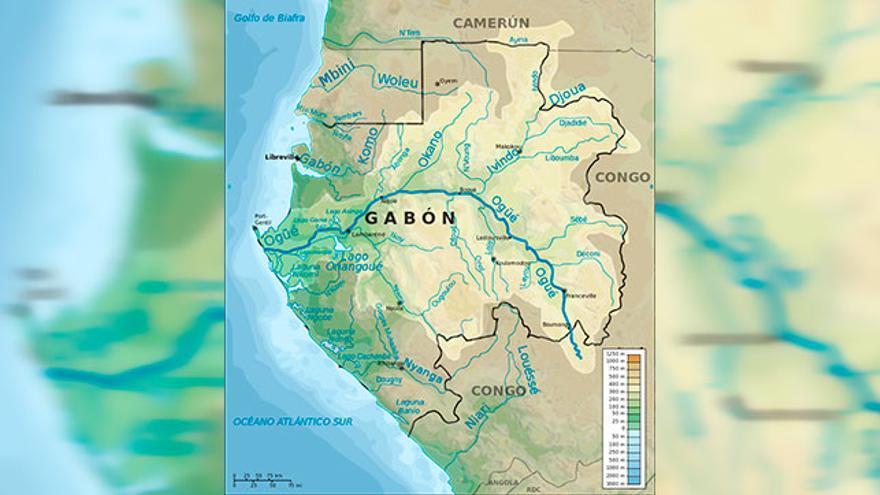 Cuenca del río Ogüé.
