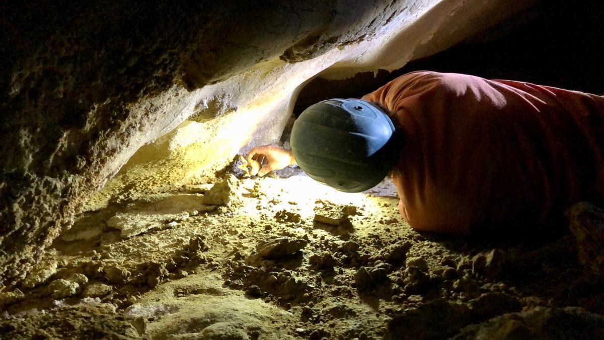 Hallazgo arqueológico de la cueva de Suarías