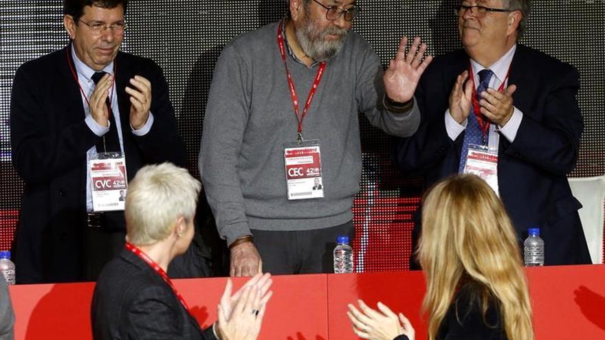Cándido Méndez en el 42 Congreso de UGT.