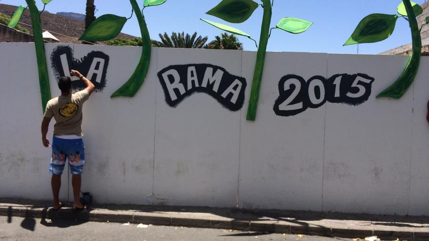 Agaete ultima los detalles de la fiesta de La Rama 2015