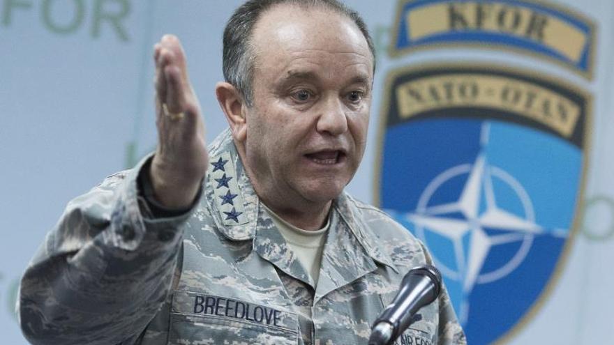 El jefe militar de la OTAN no cree que Rusia vaya a detener sus injerencias en Ucrania