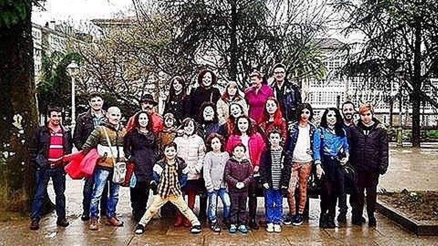 Participantes en el encuentro de Chrysallis Galicia, en Santiago