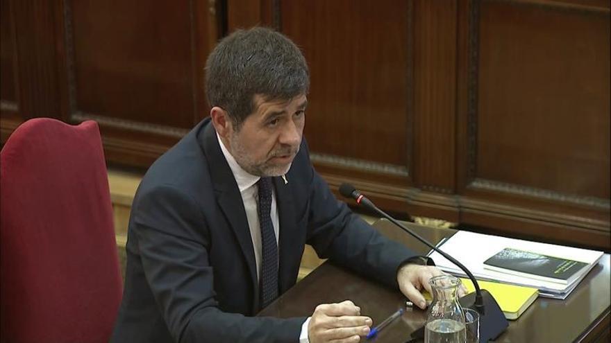 Jordi Sànchez: el 20-S no hubo riesgo para nadie, ni asaltos ni violencia