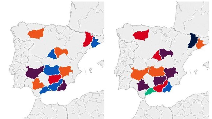 Los 15 escaños más disputados de las elecciones del 20D.