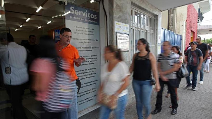 Brasil registra su mayor nivel de desempleo en octubre desde 2007