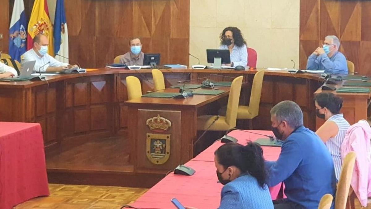 Reunión sobre 'La Palma orgánica'.