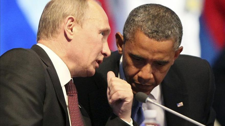 Obama y Putin se verán en el G20, pero no celebrarán reunión bilateral