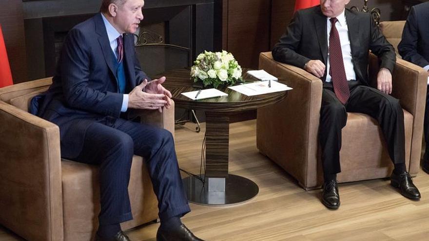 Putin y Erdogán destacan la recuperación casi total de relaciones bilaterales