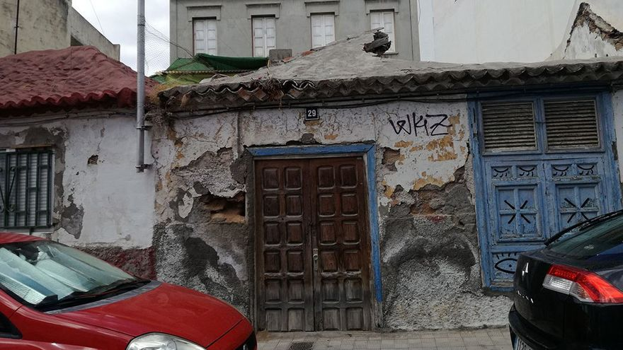 Deterioro de las casas anexas. (Belén Molina).