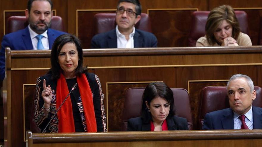 Robles niega que el PSOE cuestione el cupo y haya una rebelión de los barones