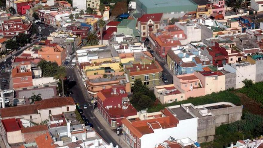 Imagen de archivo del barrio orotavense de La Perdoma, en Tenerife
