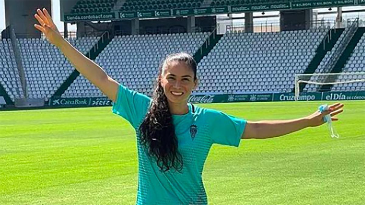 Ligia Moreira, jugadora del Córdoba Femenino.