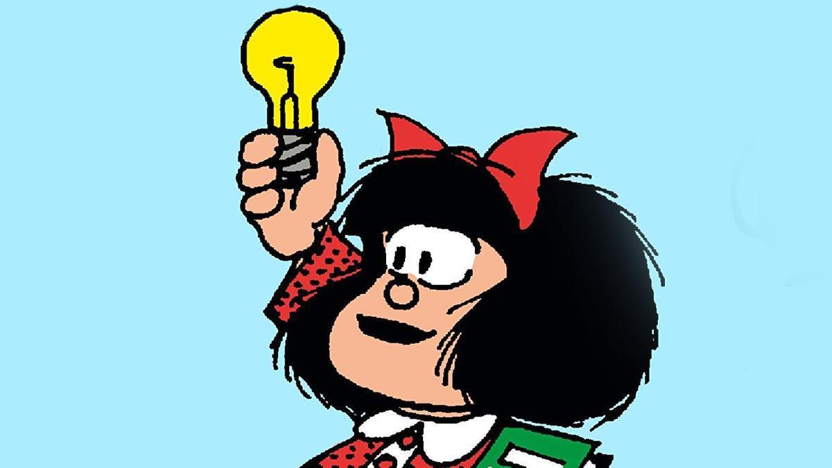 Portada de 'La filosofía de Mafalda'