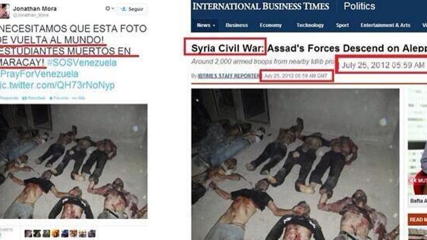 Muertos en Siria
