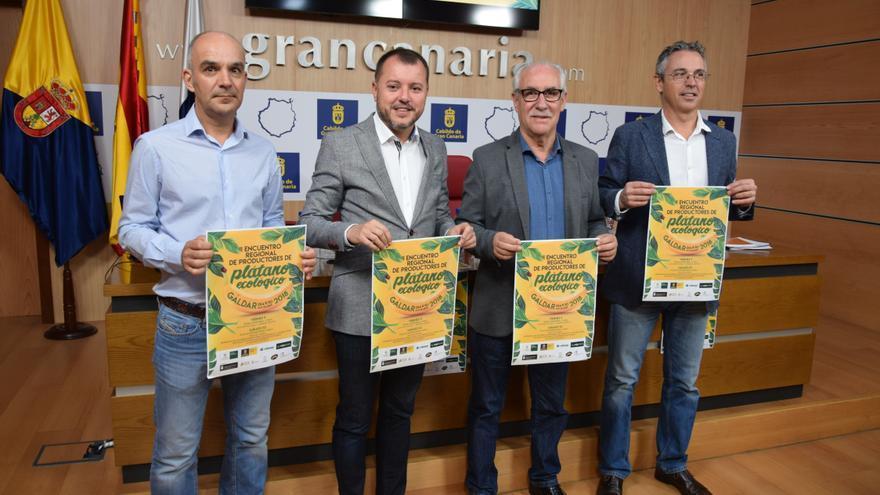 Presentación del II Encuentro Regional de Productores de Plátano Ecológico