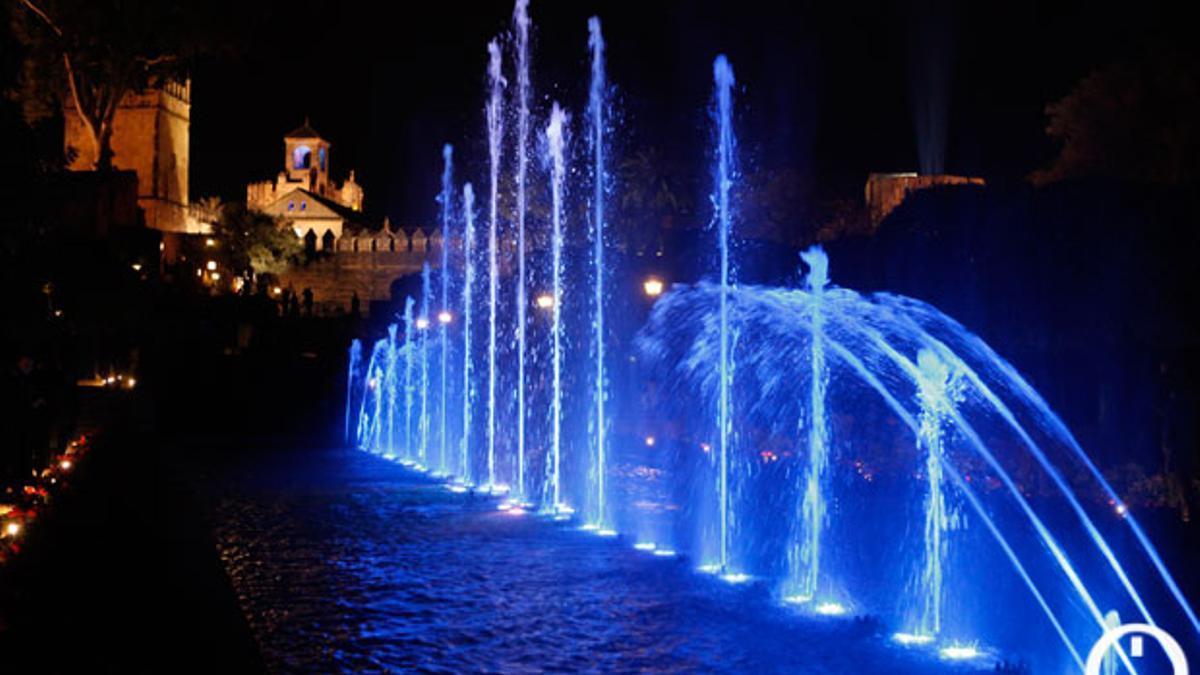 Espectáculo nocturno en el Alcázar