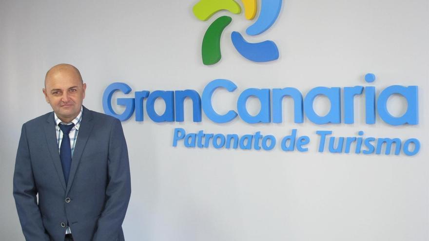 El consejero de Turismo del Cabildo de Gran Canaria, Carlos Álamo