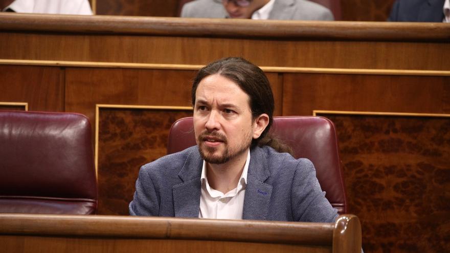 """Pablo Iglesias acusa al PP de """"mentir sin pudor"""" sobre Podemos """"para preservar su impunidad"""""""