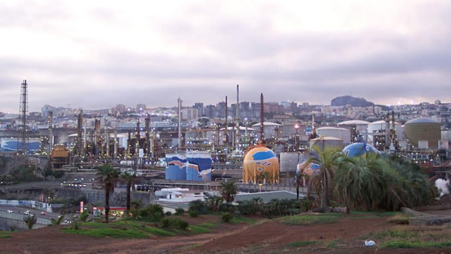 Terrenos de la Refinería de Santa Cruz de Tenerife