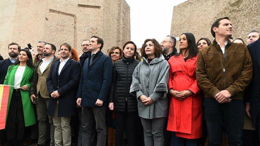La conocida como 'foto de Colón' de febrero de 2019.