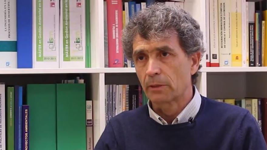 Enrique Lapuente, gerente de la Epsar.