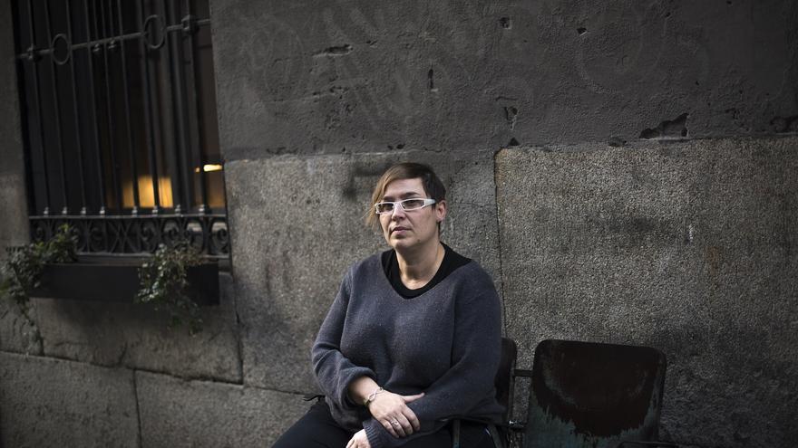 Nadia González, víctima de abuso sexual en la infancia.