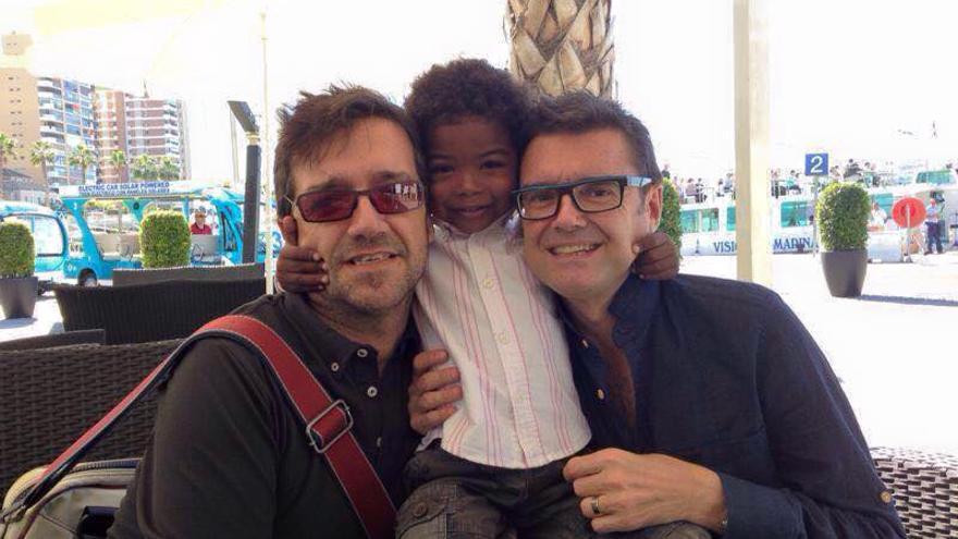Juan Andrés, Tomás y Tristán