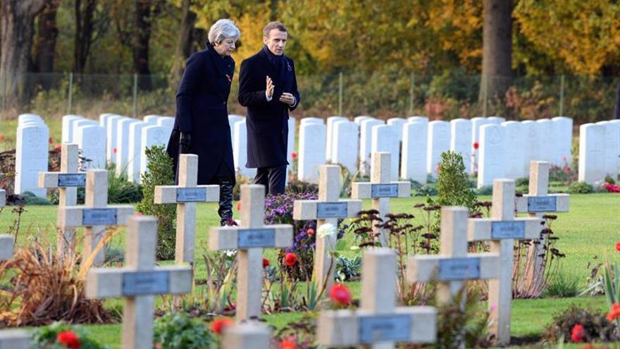 Macron reúne a la comunidad internacional en el centenario del armisticio