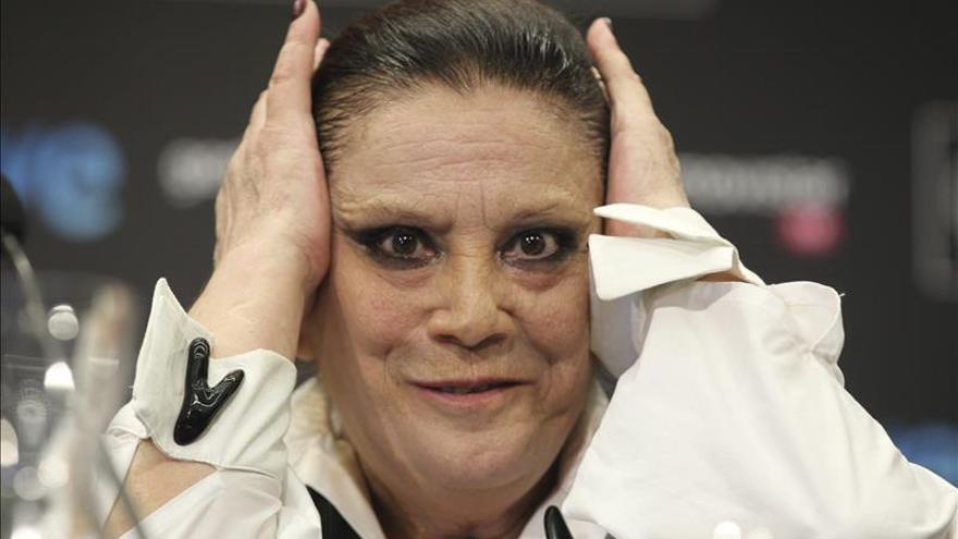 """Terele Pávez, Goya como mejor secundaria por """"Las brujas de Zugarramurdi"""""""