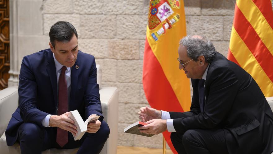 Sánchez cede ante Torra y constituirá la mesa de diálogo el 26 de febrero en Moncloa