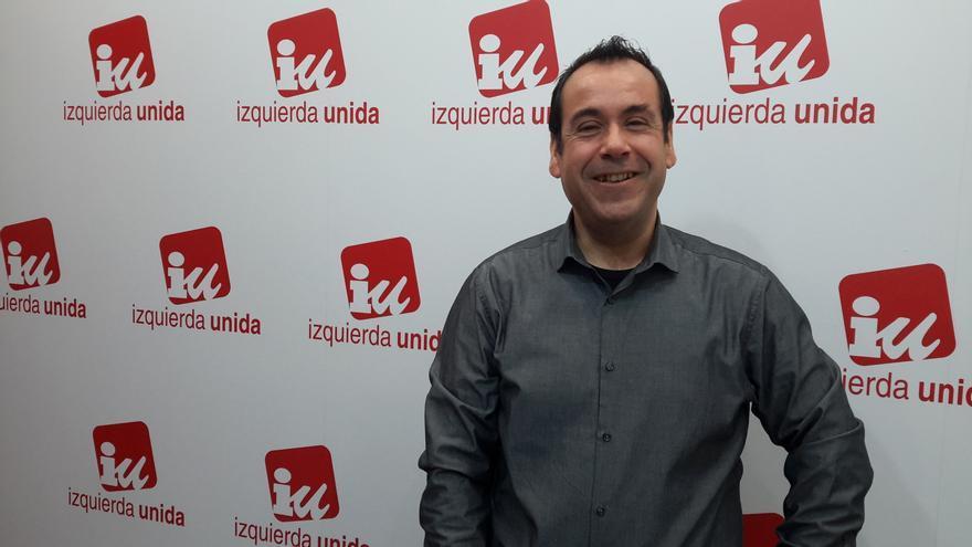 Juan Ramón Crespo, coordinador regional de IU Castilla-La Mancha
