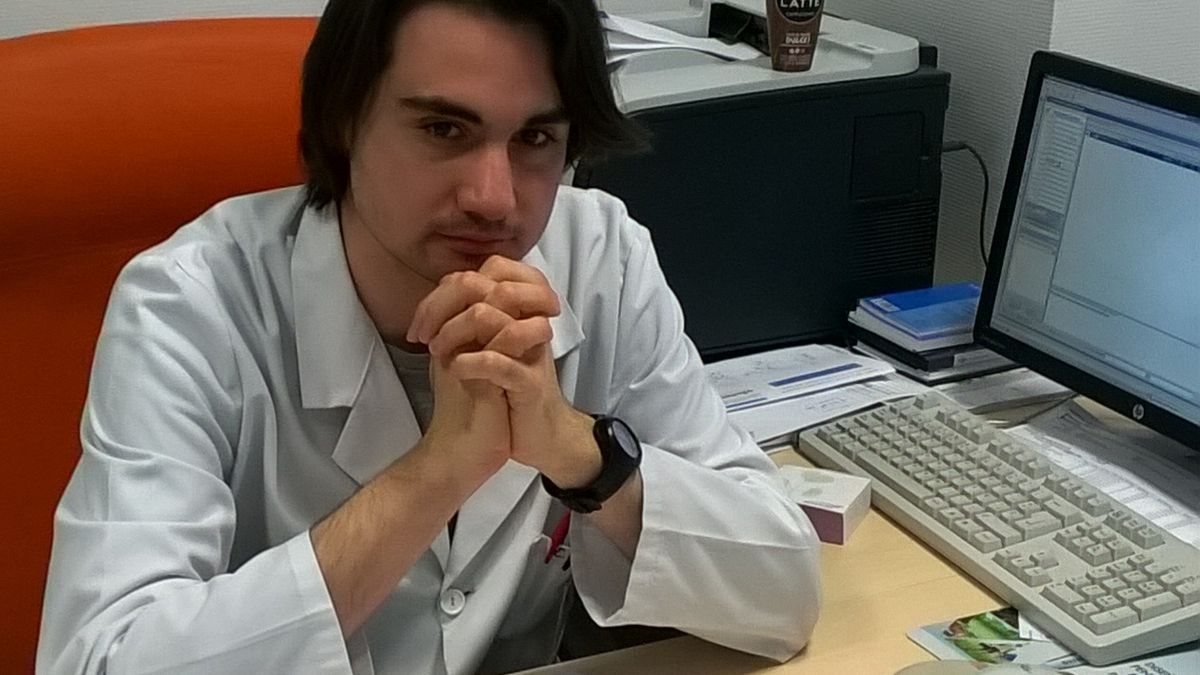 Eduardo García, uno de los jóvenes investigadores afectados.