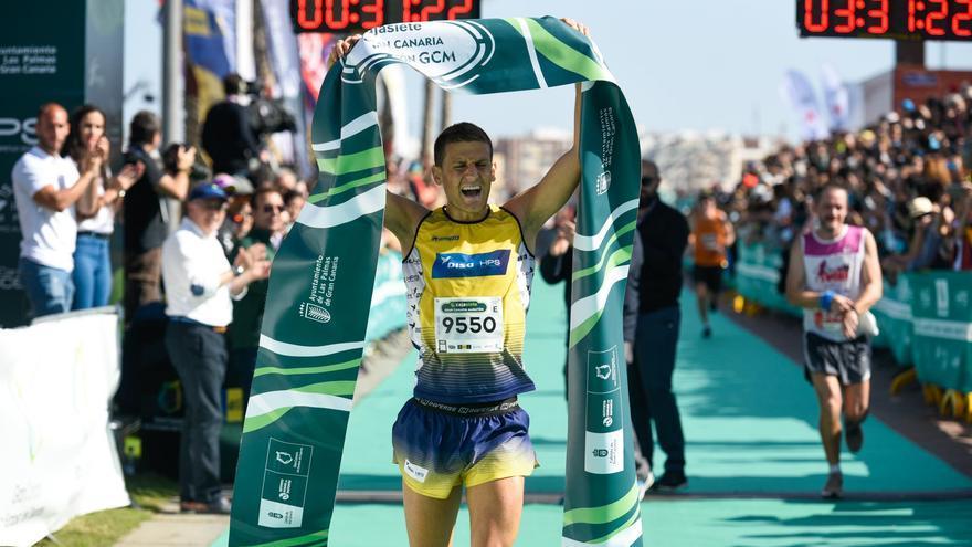 Francisco Cabrera, ganador en la prueba de 10 kilómetros.