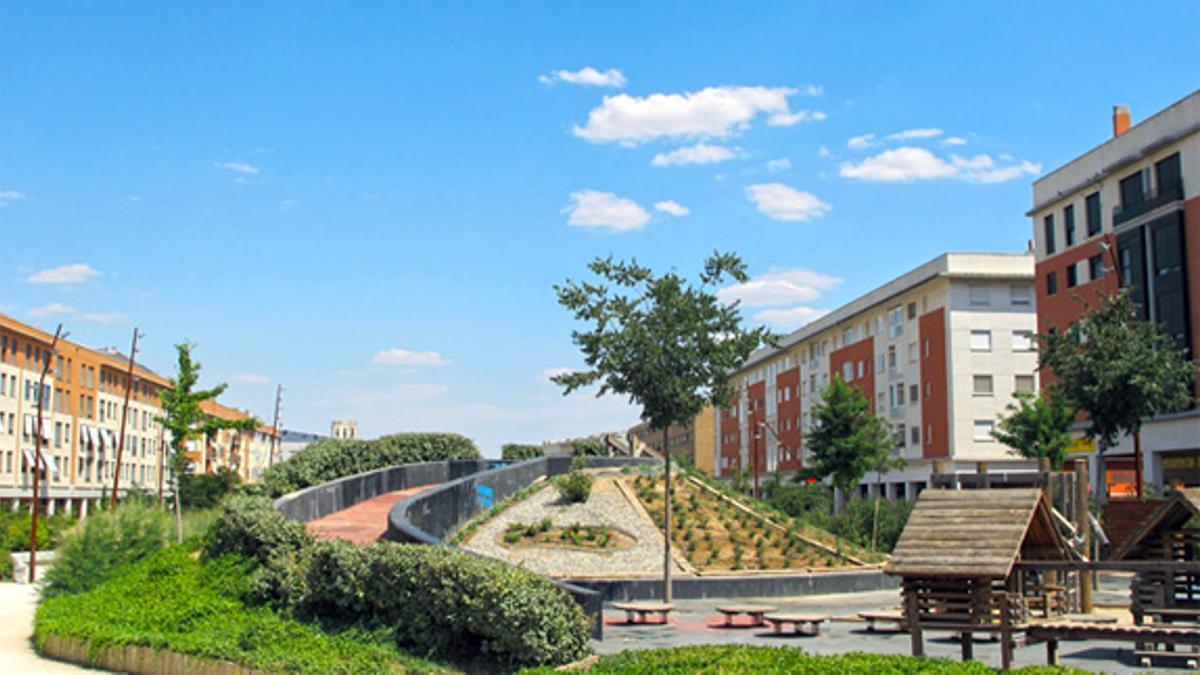 Parque Juan Pablo II en Ciudad Real