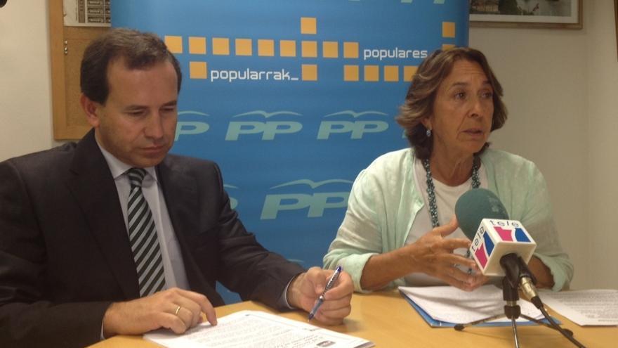 """PP de Getxo condena el ataque a la sede de Barakaldo porque """"nos trae a la memoria tiempos pasados"""""""