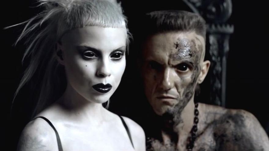¥o-landi y Ninja, del dúo de música Die Antwoord