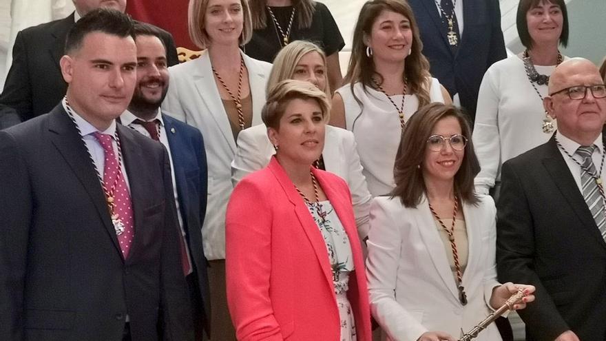 Ana Belén Castejón es nombrada alcaldesa de Cartagena gracias a un pacto secreto con PP y Cs