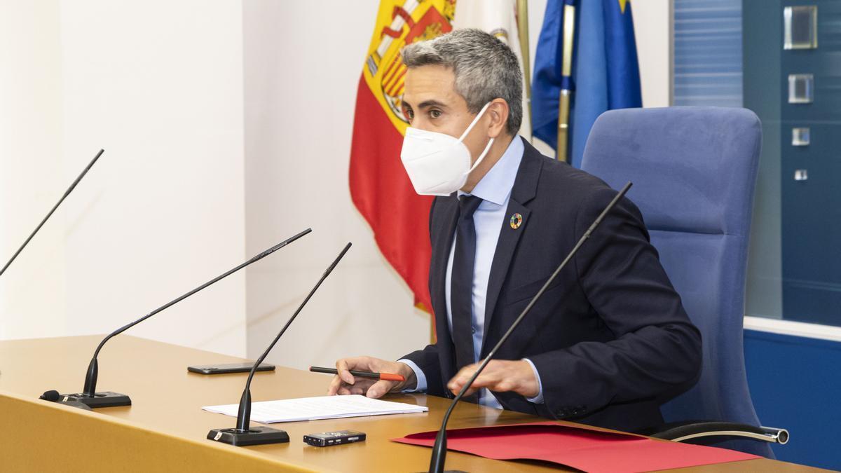 El vicepresidente, Pablo Zuloaga.