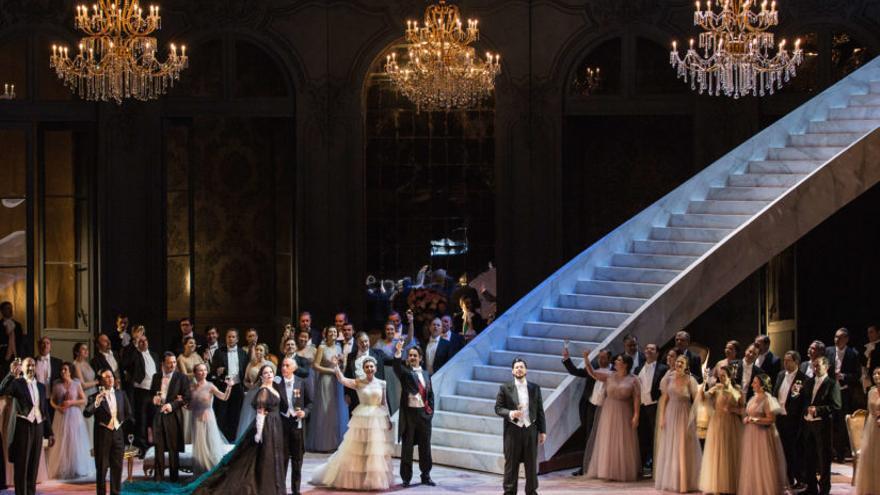 La Traviata, en la sala principal del Palau de les Arts