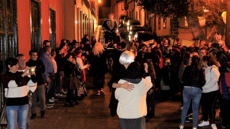 Imagen de archivo de la fiesta que se reedita este viernes en Guía de Isora