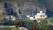 Imagen de la incineradora de Zabalgarbi, ubicada en Bilbao.