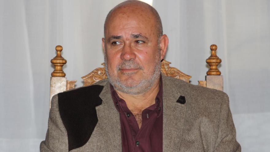 Julio Felipe, concejal de Recursos Humanos y Régimen Interno de Santa Cruz de La Palma.