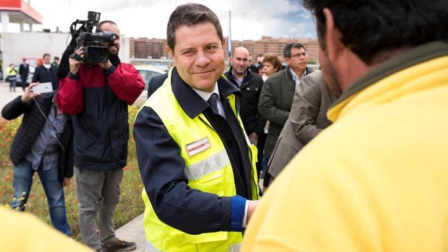 C.-La Mancha calcula que el incendio de Seseña podría durar más de una semana