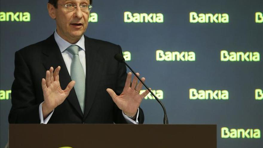 Bankia descarta pedir más ayudas y aspira a aumentar el volumen de créditos