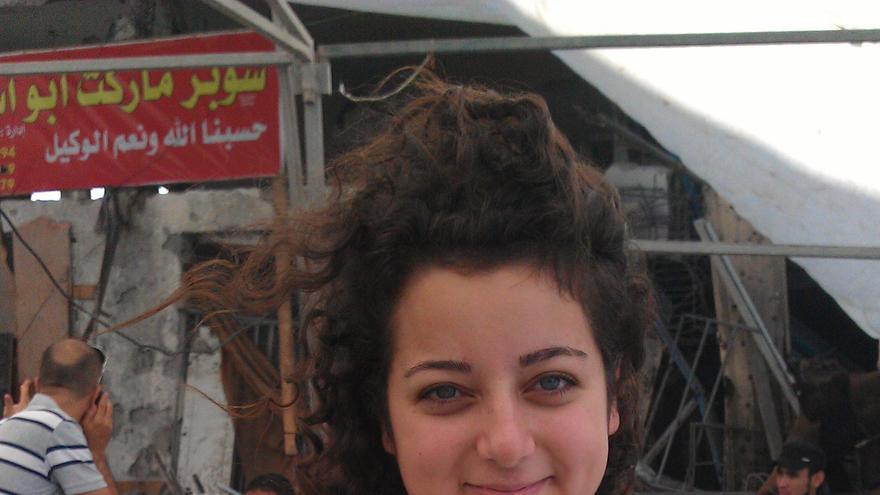 Farah Baker quiere devolverle la dignidad al pueblo palestino. Foto: Ana Garralda